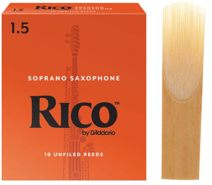 DAddario Woodwinds Rico Soprano Saxophone 1.5