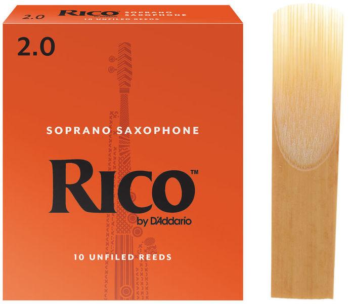 DAddario Woodwinds Rico Soprano Saxophone 2.0