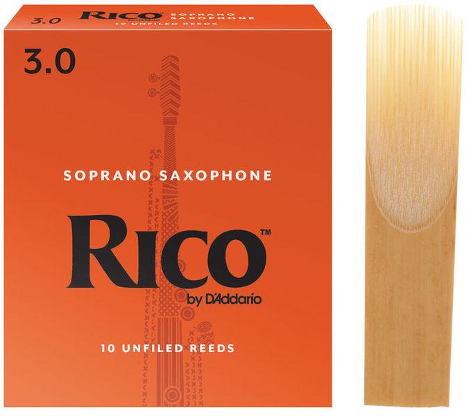 DAddario Woodwinds Rico Soprano Saxophone 3.0