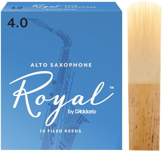 DAddario Woodwinds Royal Alto Saxophone 4.0