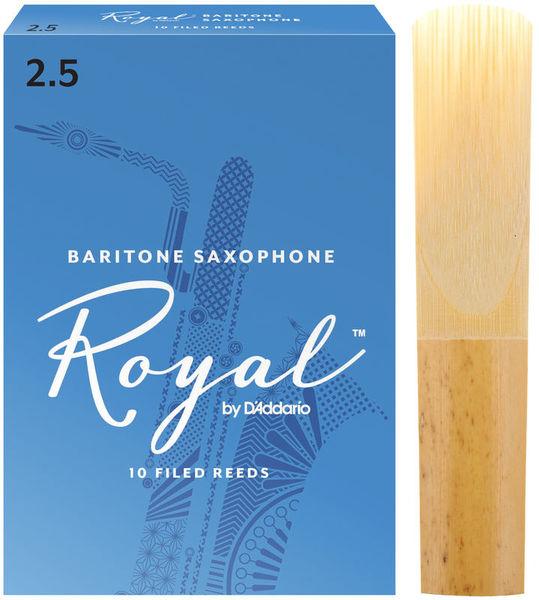 DAddario Woodwinds Royal Baritone Saxophone 2.5