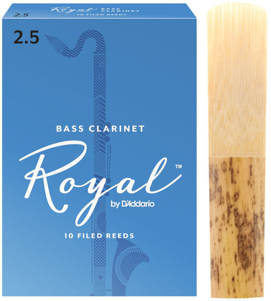DAddario Woodwinds Royal Boehm Bass Clarinet 2.5
