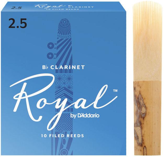 DAddario Woodwinds Royal Bb- Clarinet 2.5