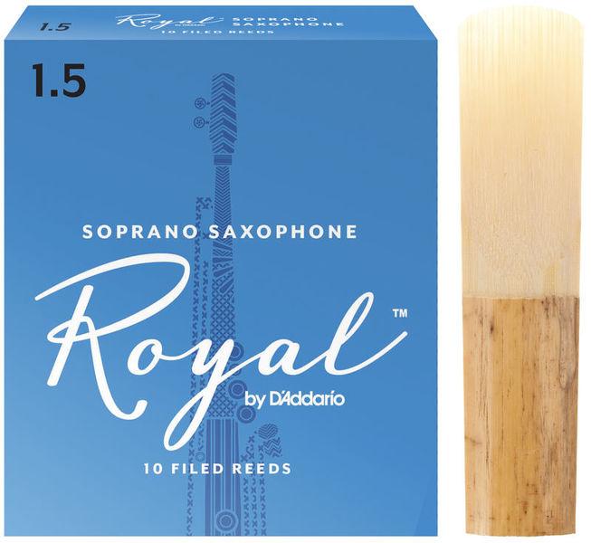 DAddario Woodwinds Royal Soprano Sax 1.5