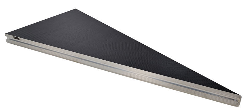 Stairville Tour Stage Triangle 2x1m R ODW