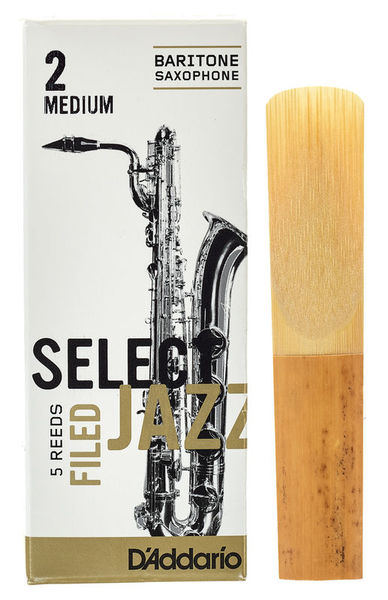 DAddario Woodwinds Select Jazz Filed Baritone 2M