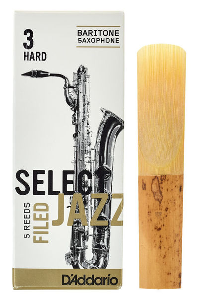 DAddario Woodwinds Select Jazz Filed Baritone 3H