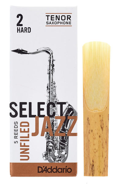 DAddario Woodwinds Select Jazz Unfiled Tenor 2H