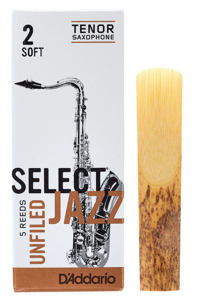 DAddario Woodwinds Select Jazz Unfiled Tenor 2S