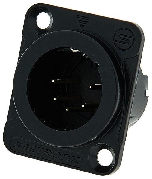 Seetronic MJ5F2C-BG 5pin XLR black