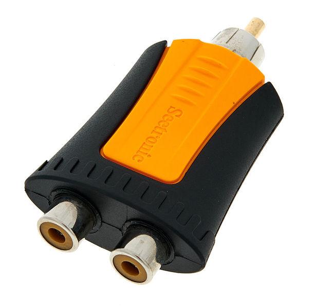 Seetronic MRM-2RF Adapter RCA 2x RCA