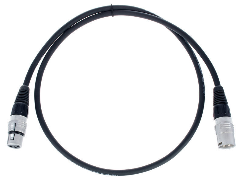 Sommer Cable Stage 22 SGHN BK 1,0m