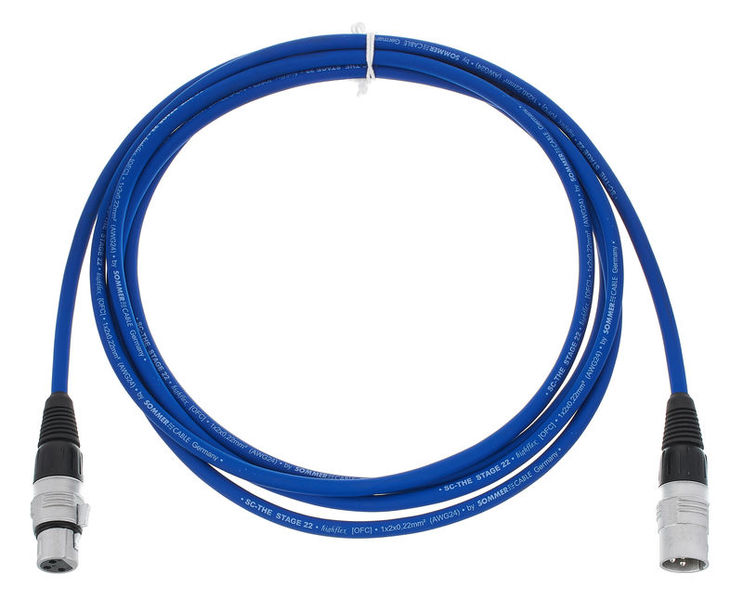 Sommer Cable Stage 22 SGHN BL 3,0m
