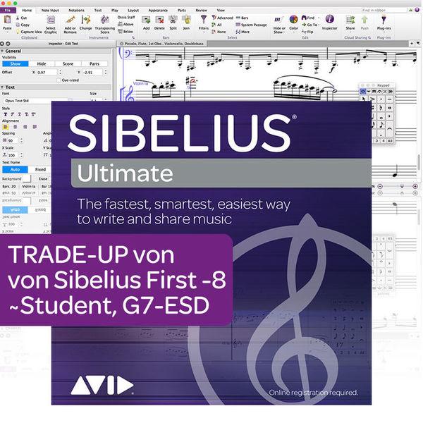 Avid Sibelius Ultimate Trade-Up