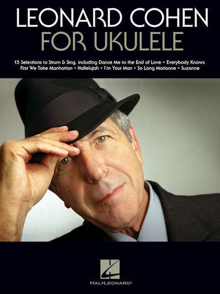 Hal Leonard Leonard Cohen for Ukulele