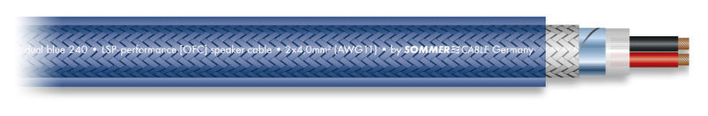 Sommer Cable SC-DUAL Blue