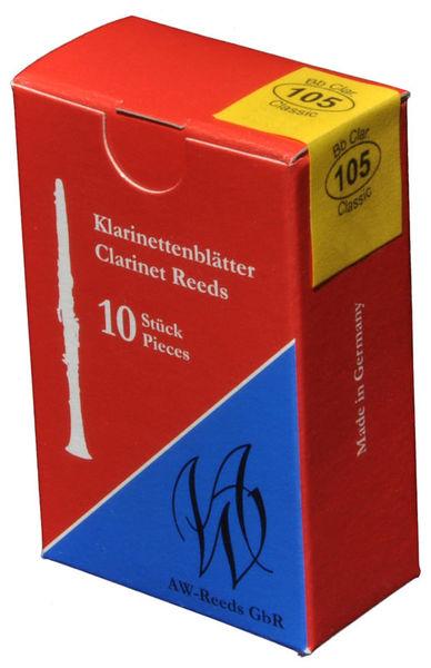 AW Reeds 105 German Clarinet 2.5