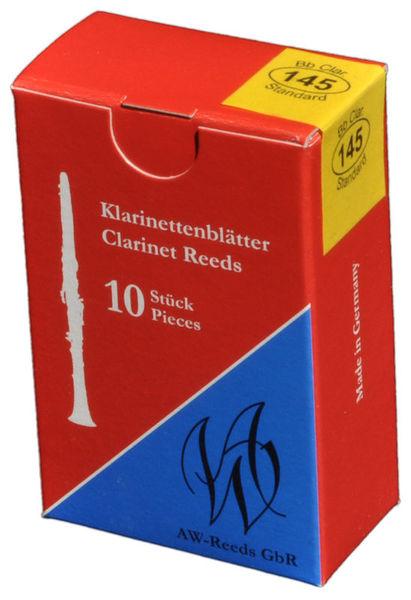 AW Reeds 145 German Clarinet 3.0