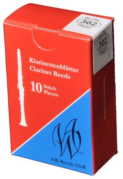 AW Reeds 302 Boehm Clarinet 2.5