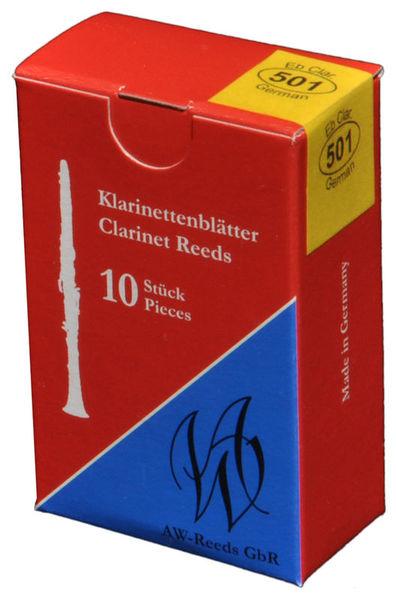 AW Reeds 501 German Eb-Clarinet 4+