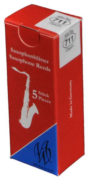 AW Reeds 711 Alto Saxophone 2.5
