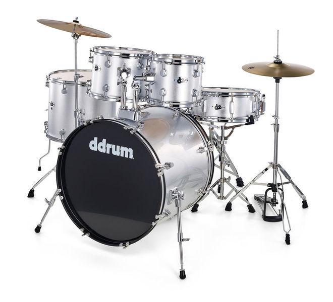 DDrum D2 Starter Set Silver Sparkle
