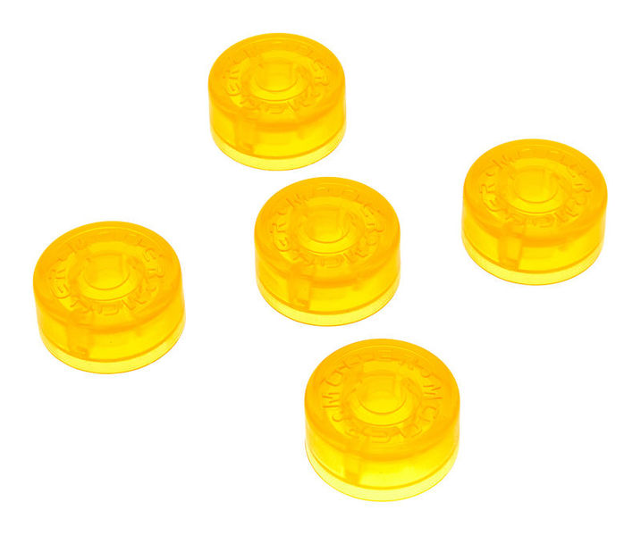 Mooer Candy Footswitch Topper Yellow