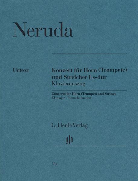 Henle Verlag Neruda Concerto Horn (Trumpet)