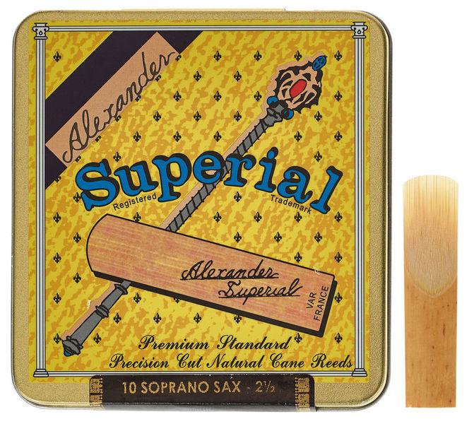 Alexander Reeds Superial Soprano 2.5