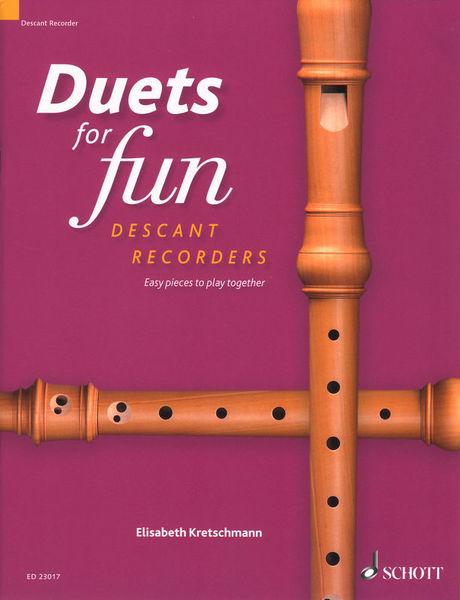 Schott Duets for Fun Descant Recorder