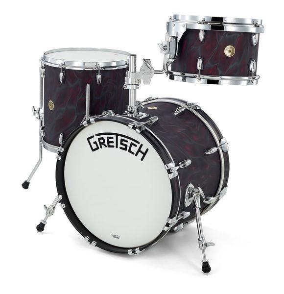 Gretsch Drums Broadkaster SB BK Satin Flame