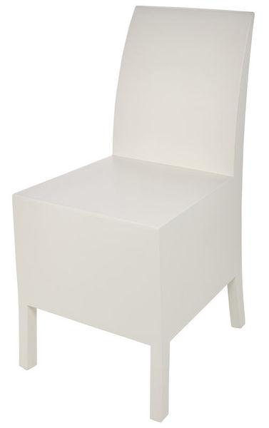 Baff Cajon Chair White