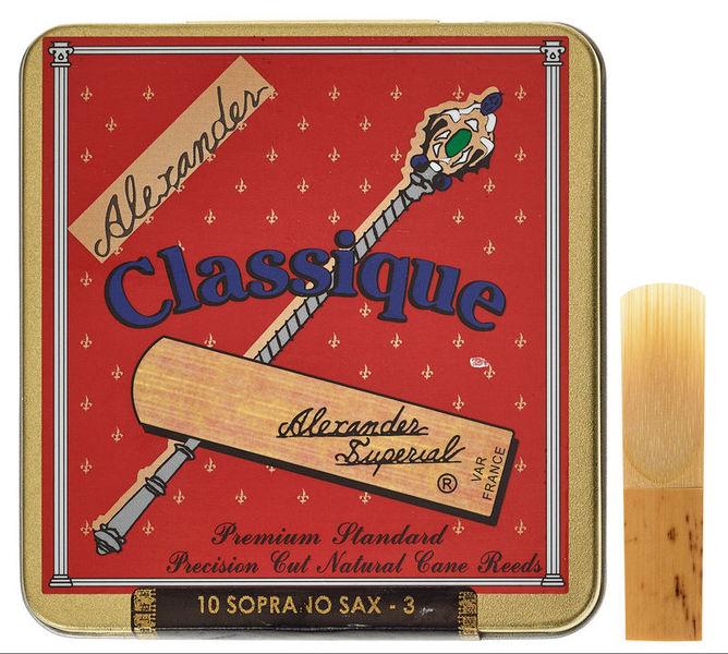 Alexander Reeds Classique Soprano 3.0