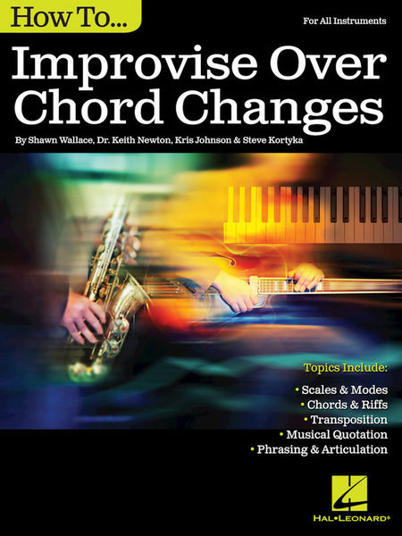 Hal Leonard How To Improvise Over Chord