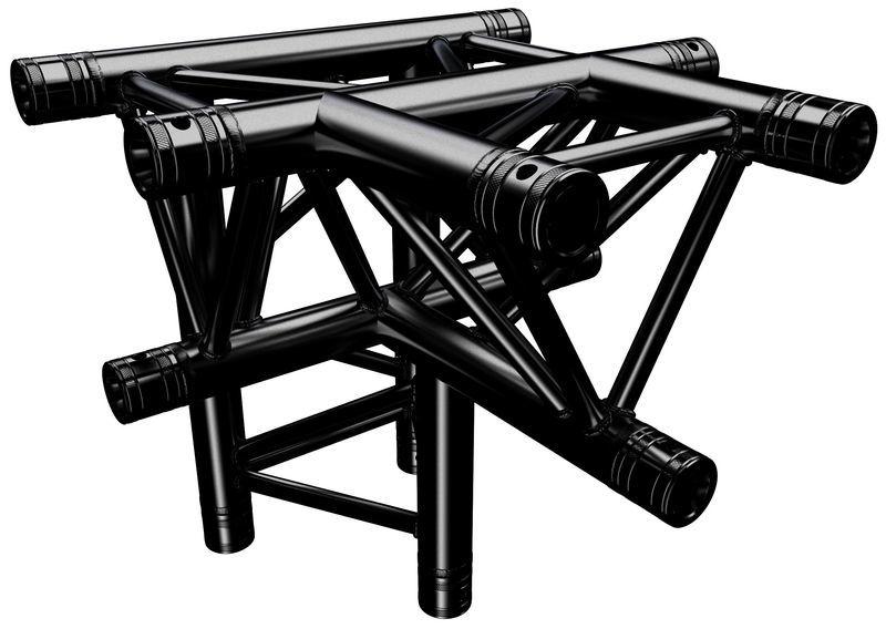Global Truss F33T42-B T-Piece Black