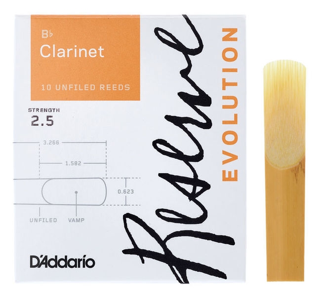 DAddario Woodwinds Reserve Evolution Clar 2.5
