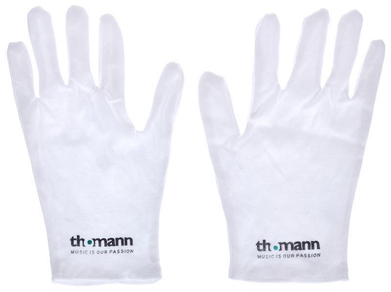 Thomann Cotton Gloves White S/M