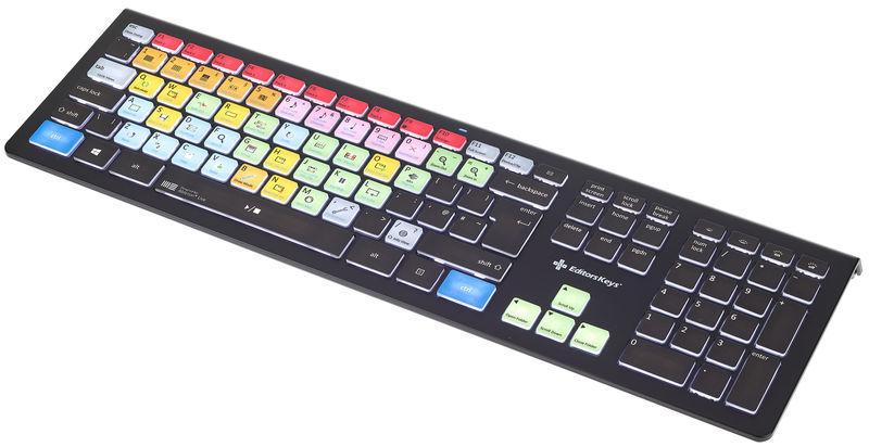 Editors Keys Backlit Keyboard Live WIN UK