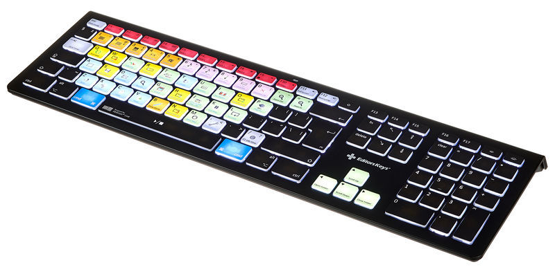 Editors Keys Backlit Keyboard Live MAC UK