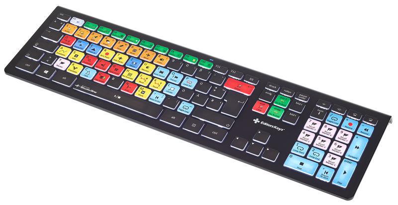 Editors Keys Backlit Key. Studio One WIN DE