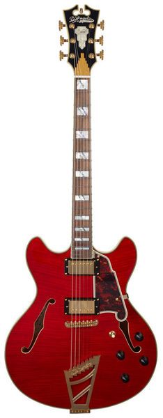 DAngelico Excel DC Cherry