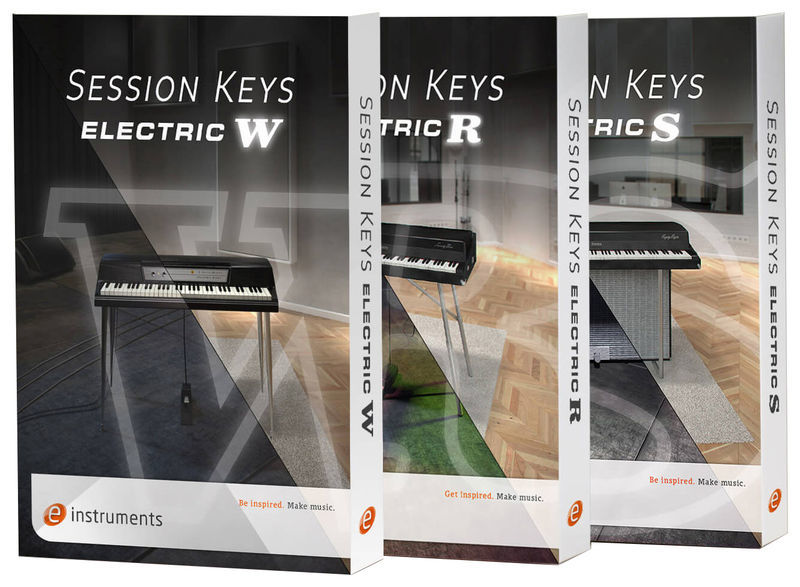 e-instruments Session Keys Electric Bundle
