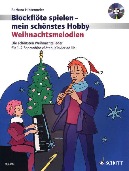 Schott Blockflöte Spielen Weihnacht