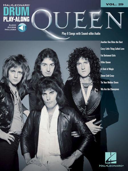 Hal Leonard Drum Play-Along Queen