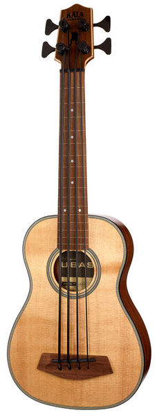 Kala U-Bass Spruce Top 4 FL F