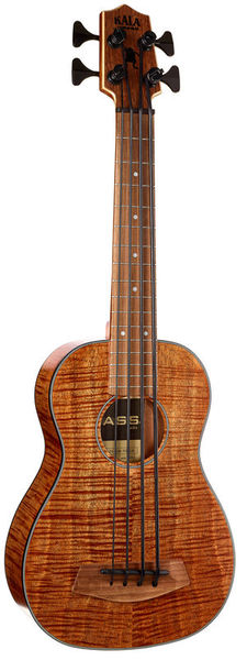 Kala U-Bass Exotic Mahogany LH 4
