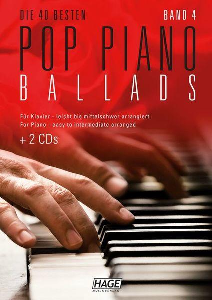 Hage Musikverlag Pop Piano Ballads 4