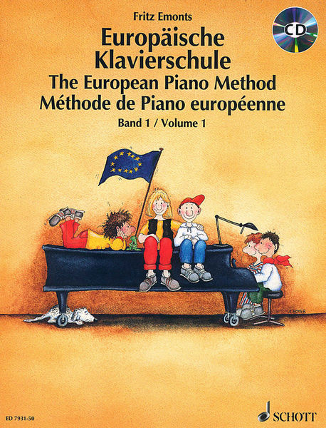 Schott Europäische Klavierschule 1+CD