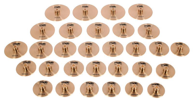 Paiste Crotales C6-F8 443Hz