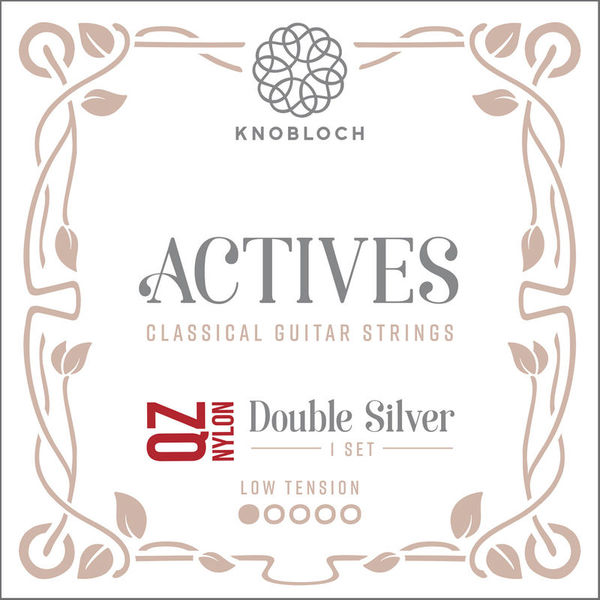 Knobloch Strings Double Silver Nylon 200ADQ